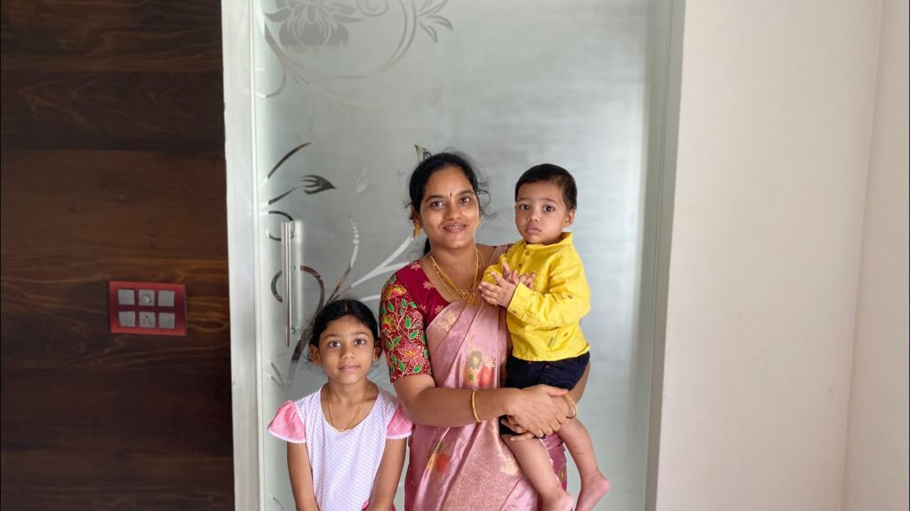 Gowthami Daughter and Son