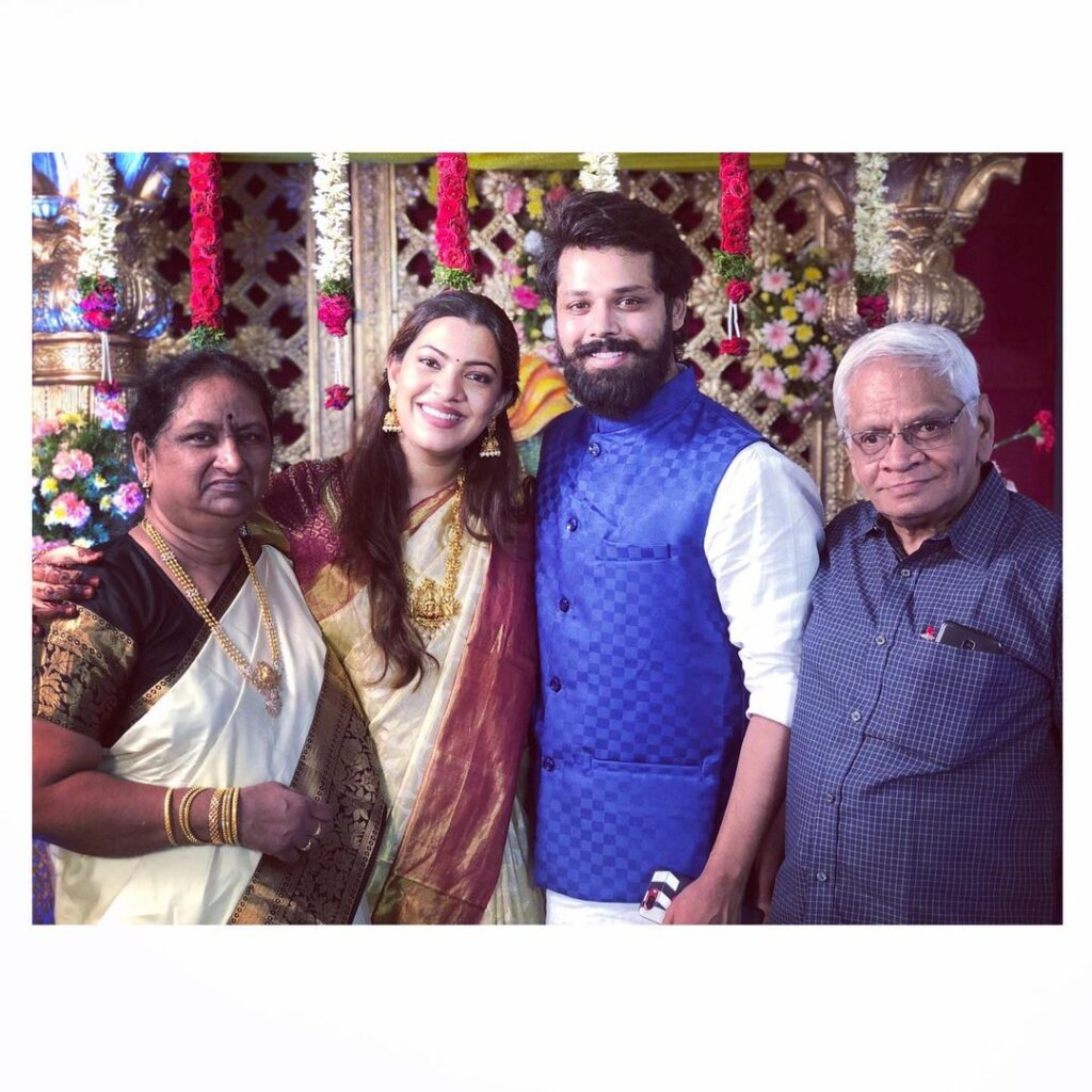 Geetha parents