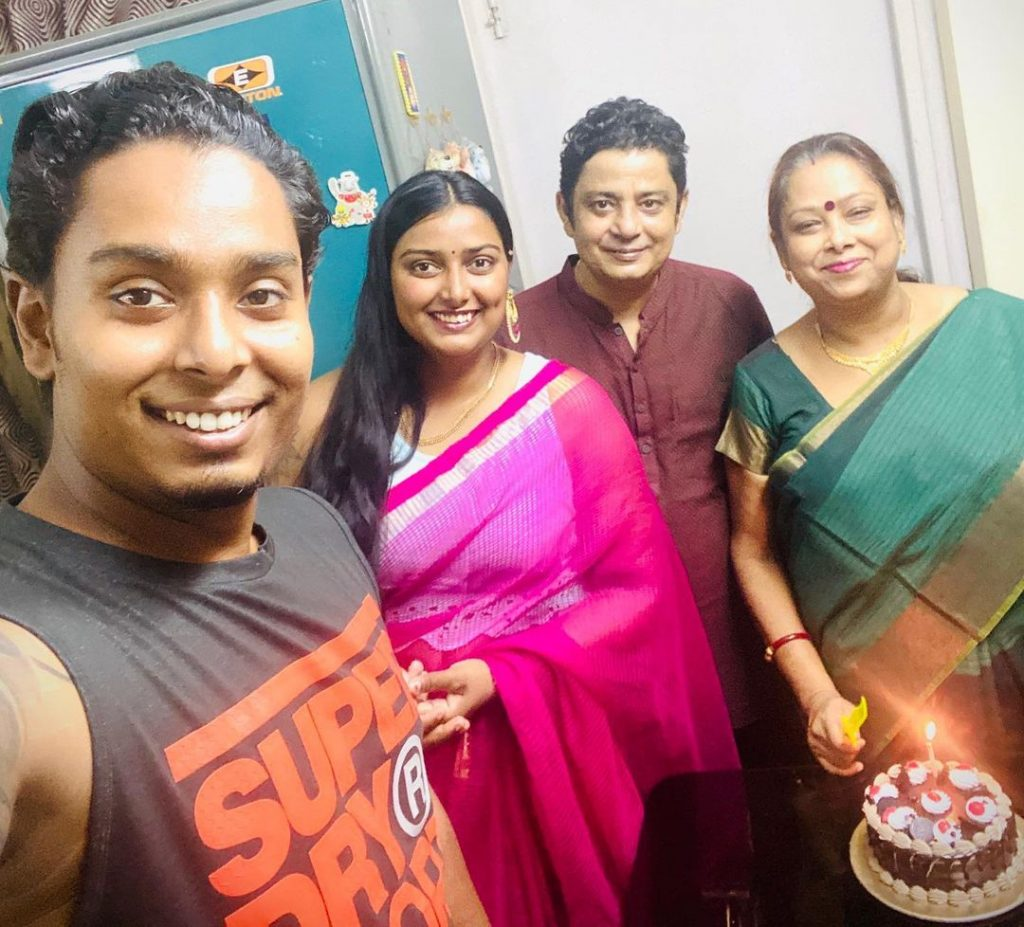 Atanu Das Family