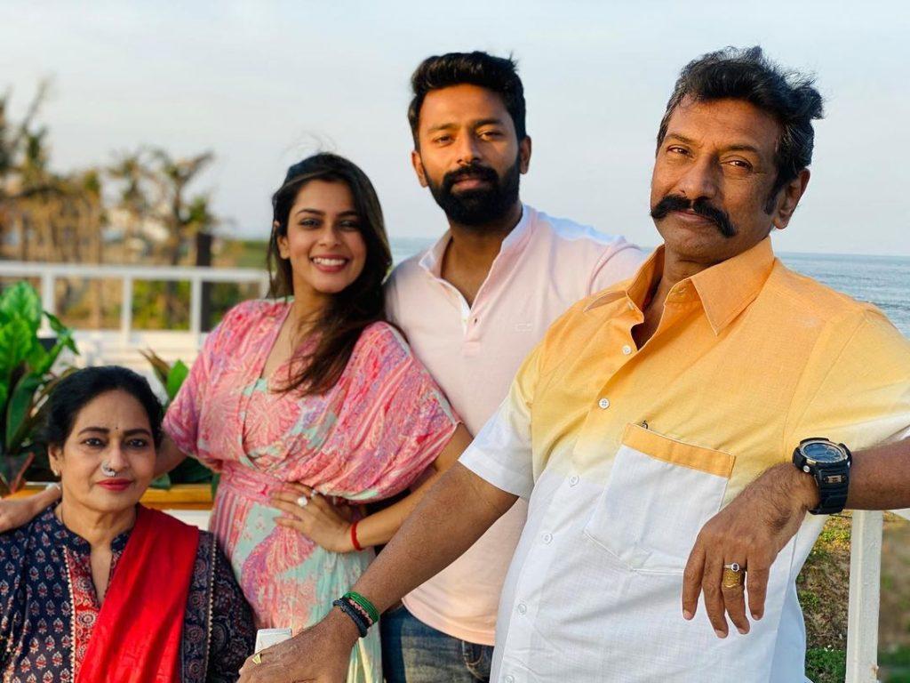 Keerthi Shanthanu (Kiki Vijay) Parents