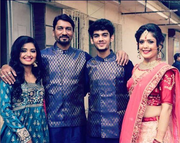 Priyanka Jain with her family
