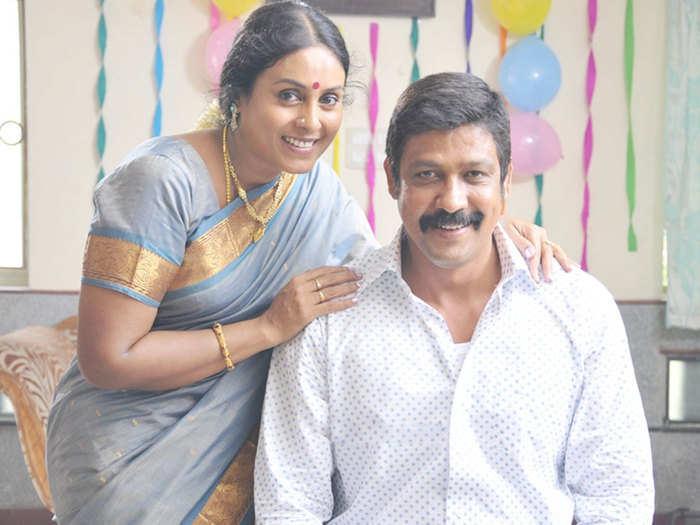 Sampath Raj With Saranya