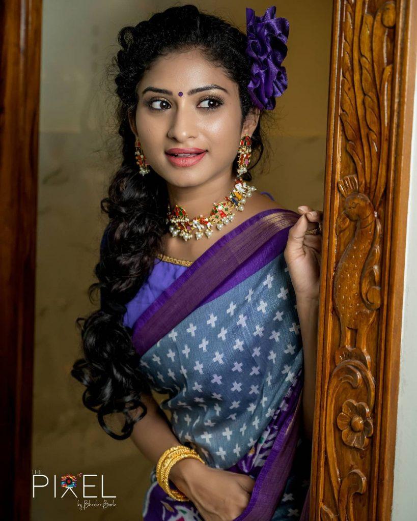 Serial Actress Vishnu Priya