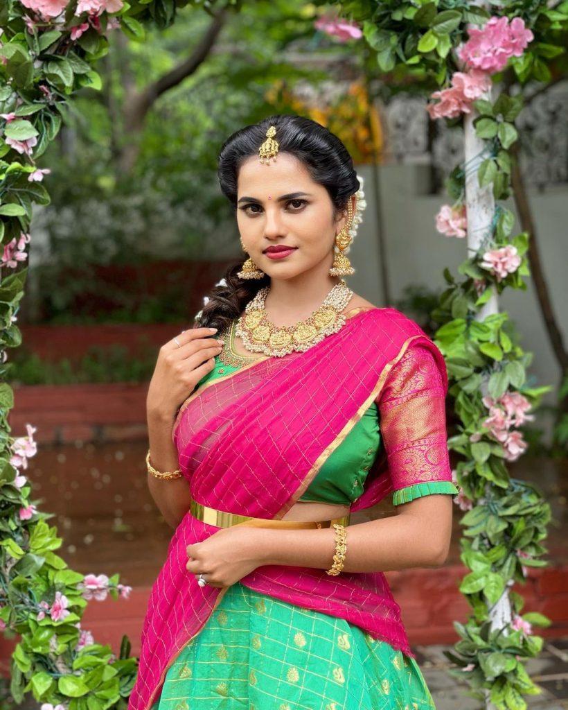 Trinayani serial Priyanka Chowdary