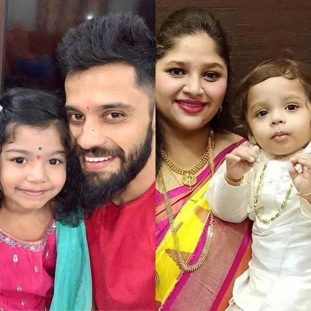 Actor Vishwa Son and Daughter