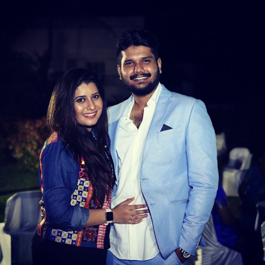 Priyanka Deshpande with her brother Rohit