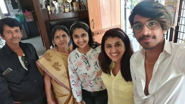 Pavithra Jayaram Family